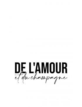 DE L'AMOUR ET...